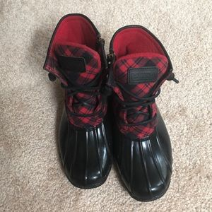 Speery Top Sider duck boots size 5